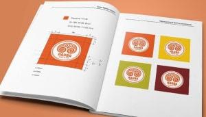 Разработка логотипа и брендбука компании 3