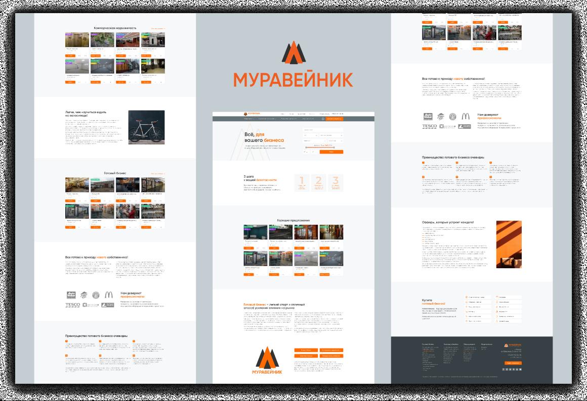 Создание сайта, разработка дизайна и логотипа, а также нейминг для проекта «Муравейник» 8