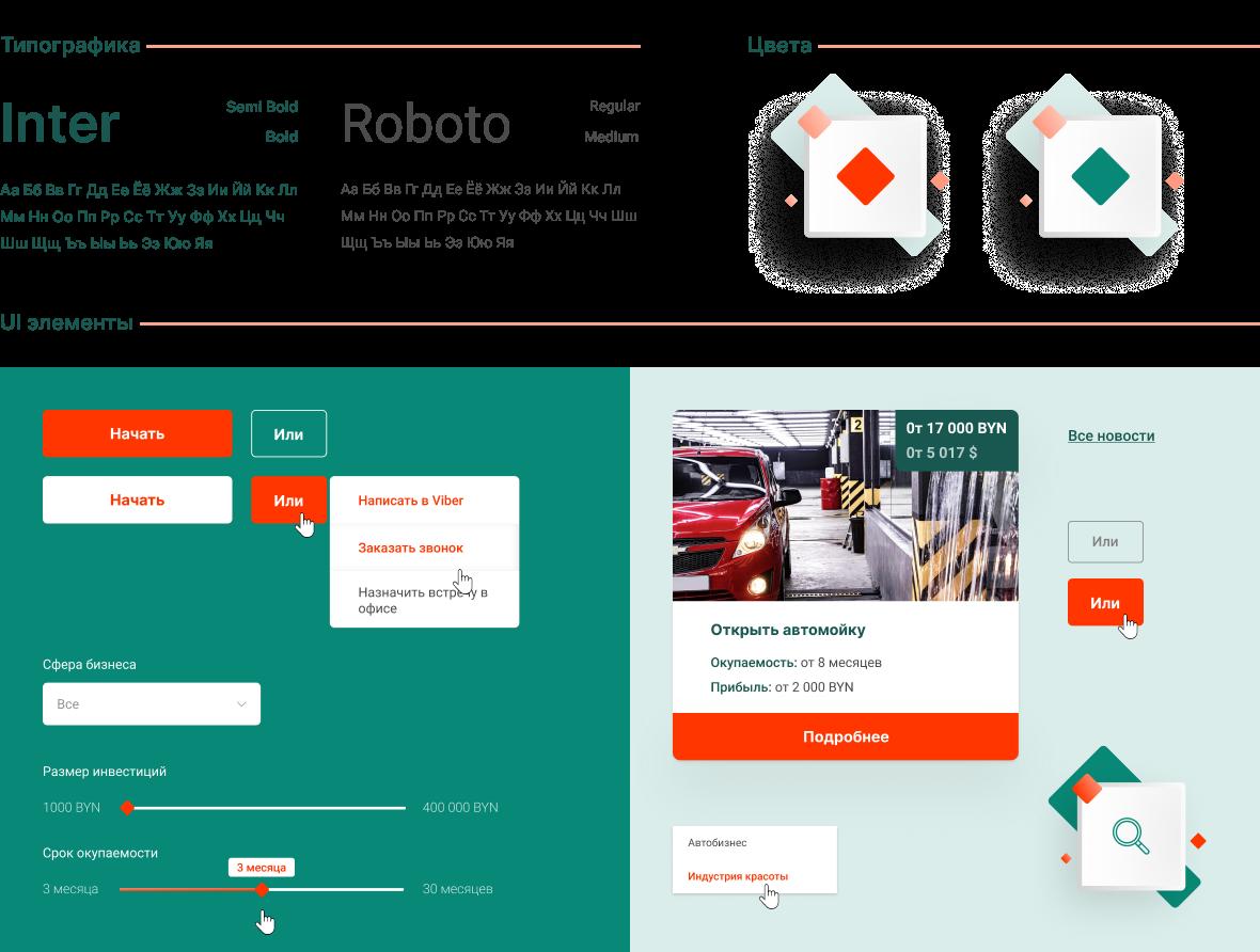 """Создание сайта и разработка дизайна для компании """"Бизнес старт"""" 4"""